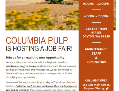 Columbia Pulp Job Fair!