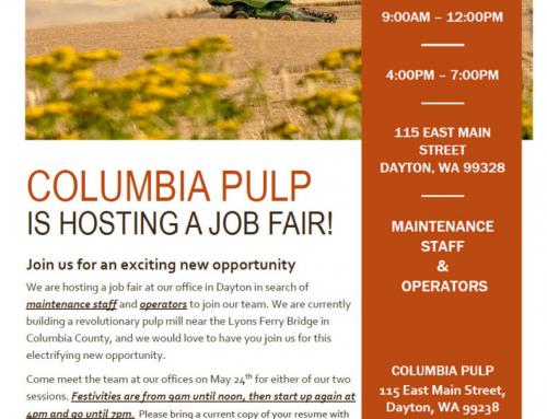 Columbia Pulp Job Fair!