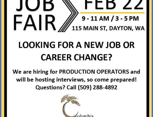 Job Fair – February 22, 2019